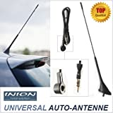 Universal 40cm KFZ Stab Antenne INION® für VW --- Beetle - Amarok - Bora - Caddy - EOS - Fox - Golf - Golf Plus - Jetta - Lupo - New Beetle - Passat - Polo - Sharan - Tiguan - Touareg - Touran - UP! - Vento --- Volkswagen UKW - FM - Dachantenne KOMPLETT