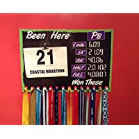 Runners Medal and Race Number hanger with changeable pbs