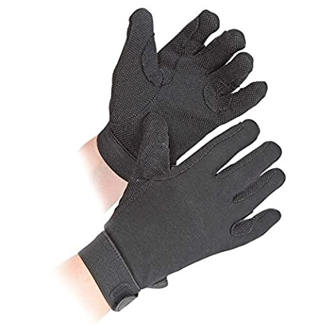 Adults Newbury Riding Gloves - Medium - Black by Shires