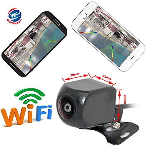 Auto Wayfeng WF® WiFi Rückfahrkamera Dash Kamera Star Nachtsicht Rückfahrkamera Mini Body wasserdicht Tachographen für iPhone und Android (Auto-backup-kamera Wlan)