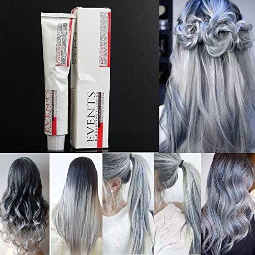 Bureze grigio chiaro tinta per capelli color crema Fashion styling fai da te per uomo donna