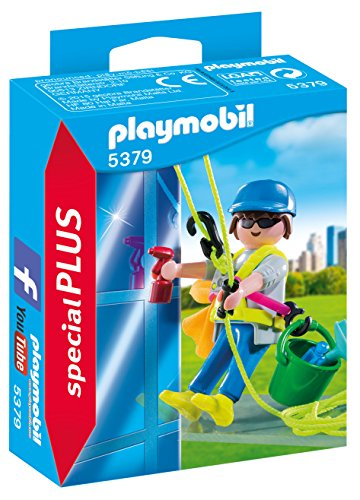 Playmobil Especiales Plus - Limpiador Ventanas 5379