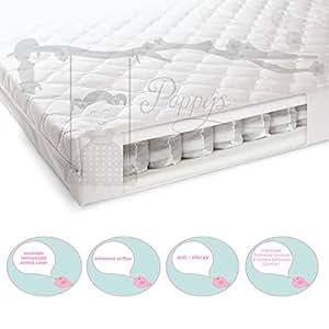 matelas de lit pour b b 140 cm x 70 cm matelas ressorts ensach s b b s. Black Bedroom Furniture Sets. Home Design Ideas