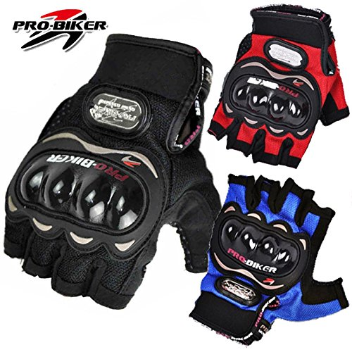 alexvyan®-genuine accessory- probiker half finger protective special high quality riding gloves, protective cycling byke bike motorcycle glove for men, gents, boys universal size (black) AlexVyan®-Genuine Accessory- Probiker Half Finger Protective Special High Quality Riding Gloves, Protective Cycling Byke Bike Motorcycle Glove for Men, Gents, Boys Universal Size (Black) 51G1pwBhm0L