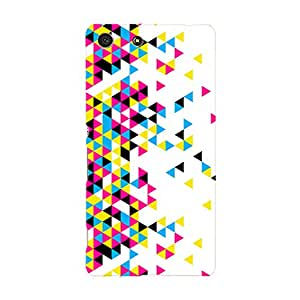 Fusion Gear Geometric Triangles Case for Sony Xperia M5
