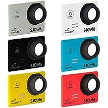 SJCam SJ-6COL-5000+ - Kit original SJCAM de 6 carcasas frontales intercambiables compatibles con el modelo SJCAM SJ5000 Plus, multicolor