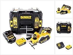 DeWalt DCP 580 P1 Akku Hobel 18V 82mm + 1x Akku 5,0Ah + Ladegerät + TSTAK