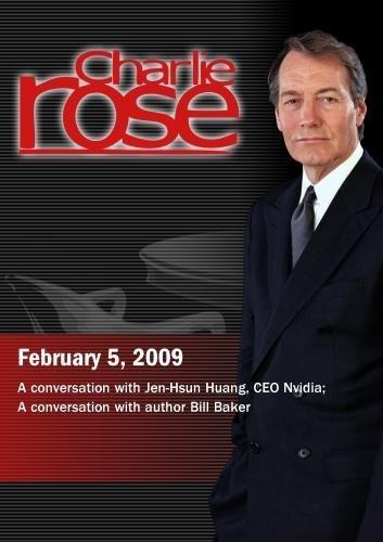 Preisvergleich Produktbild Charlie Rose - Jen-Hsun Huang,  CEO Nvidia / Bill Baker,  Author (February 5,  2009)