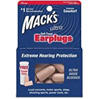 Mack's High Performance Ultra Soft Foam Earplugs - Pack of 10 Pairs preisvergleich bei billige-tabletten.eu