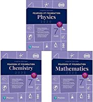 Pearson IIT Foundation Series Class 7 Combo (Set of 3 Books)