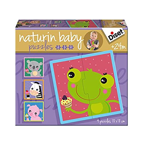Diset - 69956 - Puzzle - Naturin Baby Grenouille