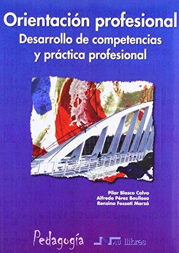 Portada del libro Orientación profesional. Desarrollo de competencias y práctica profesional (Universidad pedagogía)