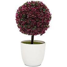 nykkola de mesa artificial en maceta flor planta rbol y plantas de jardinera de bolas wblanco maceta macetas jardn decoracin parau