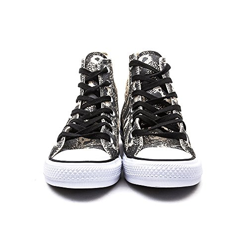 Converse Ctas Animal Hi, Sneakers Hautes femme Black