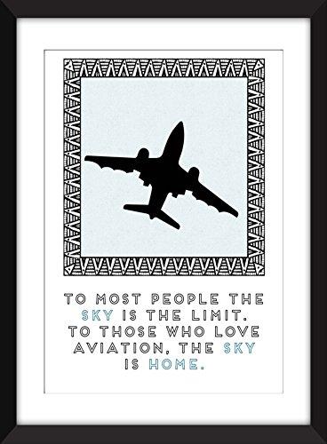 il-cielo-e-casa-citazione-11-x-14-8-x-10-5-x-7-a3-a4-a5-stampa-tipografia-materiale-illustrativo-reg