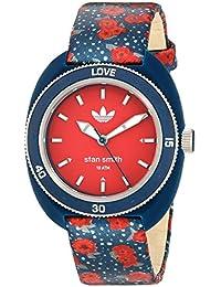 125efd590a9e adidas de la Mujer de Stan Smith de Cuarzo plástico y Nailon Casual  watchmulti Color (