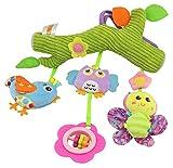 FYX Baby Spielzeug zum Aufhängen für Autositz Gitterbett Kinderwagenkette (Pastoral-Serie)