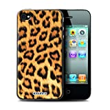 Coque de Stuff4 / Coque pour Apple iPhone 4/4S / Léopard Design / Motif Fourrure Animale Collection