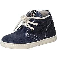 Nero Giardini Junior - Zapatos primeros pasos de ante para niño Negro Brandon Nero 22  23 EU bDalXprH