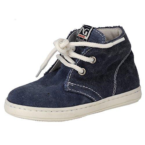 Nero Giardini Junior , {Chaussures premiers pas pour bébé (garçon) Bleu bleu 22 - Bleu - denim, 21 EU