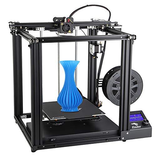 Comgrow Creality 3D Ender-5 Impresora 3D con función de impresión de