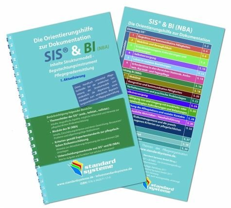 Produktbild Die Orientierungshilfen zur Dokumentation SIS & BI (NBA): Inhalte Strukturmodell - Begutachtungsinstrument Pflegegradermittlung