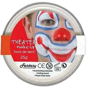 Peinture gras gamme visage et corps - Theatre 25 grs - Blanc