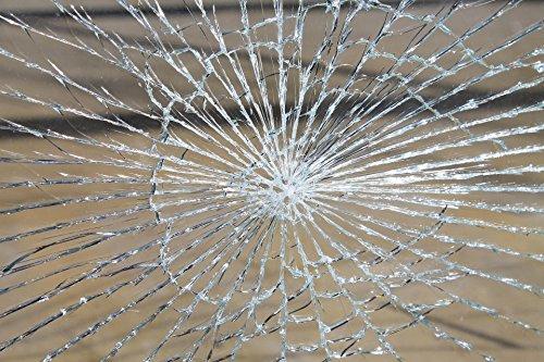 allvi 4Mil Sicherheitsfolie Fensterfolie - Splitterschutz & Einbruchschutzfolie (200)