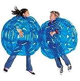 PlayMaty Aufblasbare Bubble Buddy Stoßfänger Bälle - Bump und Bounce Body Stoßfänger Wearable Stoßfänger Body Balls 36 'für Kinder Erwachsene Outdoor-Aktivität...