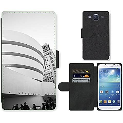 PU LEATHER case coque housse smartphone Flip bag Cover protection // M00169415 Museo de Arte Moderno de Nueva York // Samsung Galaxy S3 S III SIII