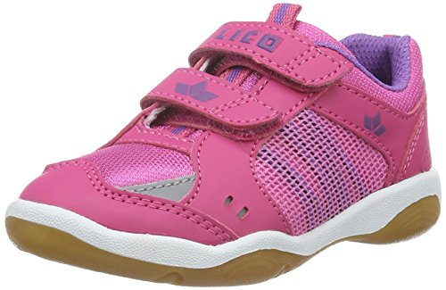 Lico Filou V, Chaussures de Fitness Fille Rose (Pink/Lila)