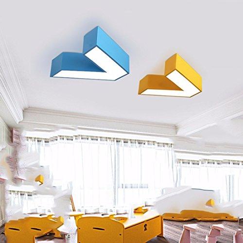 ... XQK Moderne Deckenleuchte Kreativität Kronleuchter Das Amt Der Kinder  Des Lichts Color Plane V Kindergarten Klasse ...