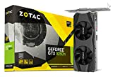 Zotac GeForce GTX 1050 Ti LP Grafikkarte (NVIDIA GTX 1050 Ti, 4GB DDR5, 128bit, Base-Takt 1290 MHz / Boost-Takt 1392 MHz, 7 GHz, Low Profile)
