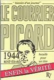 Bataille pour un titre 1944, Le Courrier Picard