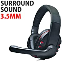 DH 878 Surround Bruit Stéréo PC Gamer Casque & microphone 3,5 mm Jack
