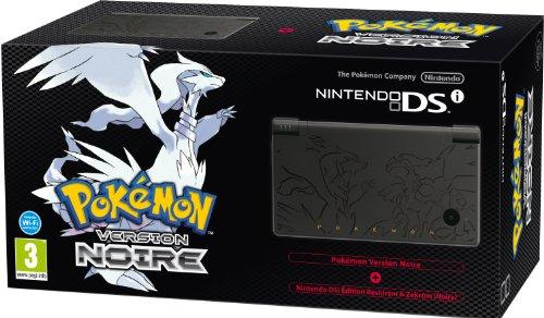 Console Nintendo DSi noire + POKéMON version noire - édition Limitée