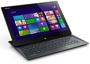 Sony VAIO Duo SVD1322U9EB 33,8 cm (13,3 Zoll Touch) Convertible Ultrabook (Intel Core i5-4200U, 1,6Ghz, 8GB RAM, 128GB SSD, Intel HD 4400, 3G/HSPDA, NFC, Win 8 Pro) schwarz
