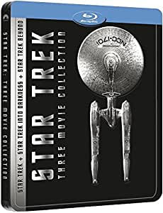 Star Trek : La trilogie - Star Trek + Star Trek Into Darkness + Star Trek Sans limites [Blu-ray]