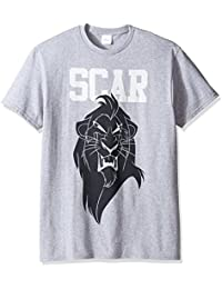 Disney Men's the Lion King Scar T-Shirt