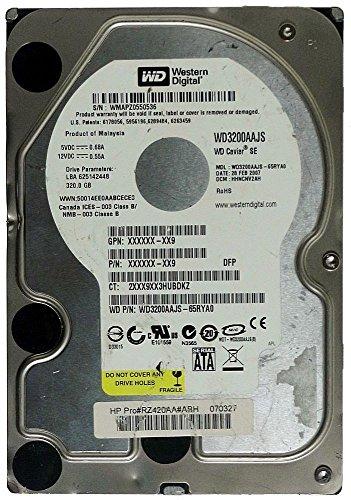 320GB 3,5' (WD3200AAJS) SATA-300 8MB 7200RPM interne Festplatte ()