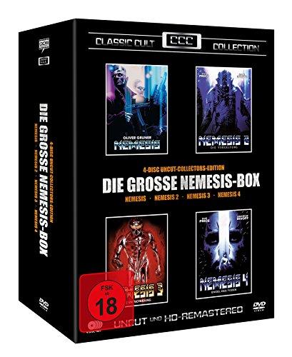 Nemesis Box - Teil 1-4 - Classic Cult Edition [4 DVDs]