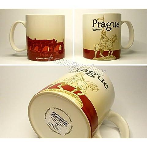 Starbucks Coffee Città City Mug a Tazza Icon Series Praga Praga Repubblica Ceca Repubblica Republica