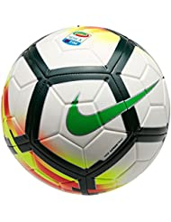 Nike Seriea NK STRK Pallone da calcio, Unisex adulto, Unisex adulto, SERIEA NK STRK, bianco/rosso/verde (white/red/pro green/green)
