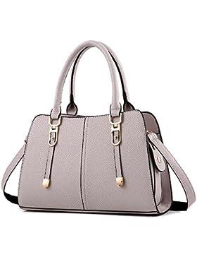 Toopot Boutique Tragetaschen Top Handle Handtasche Damen Lässig Umhängetasche Schultertasche