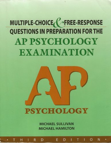 Multiple Choice and Free-Response Questions in Preparation for the Ap Psychology Examinationn por D&s Marketing Staff