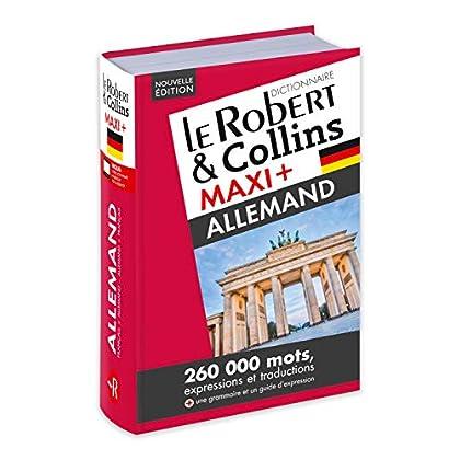 Dictionnaire Le Robert & Collins Maxi Plus Allemand et sa Version Numérique à Télécharger