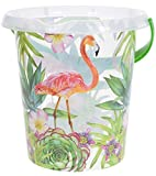 DKB Motiveimer Eimer Putzeimer 12 Liter 30 Versch. Motive (Flamingo)