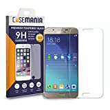Samsung Galaxy A8 Tempered Glass Screen Guard Protector Ultra Strong (9H)-Slim by CaseMania with Gift Card of Rs.200.