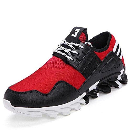 Mr. LQ - Scarpe di moda gli sport dell'uomo red 2