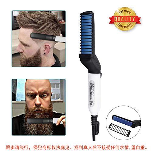 Los Hombres Barba rápida enderezadora Styler Peine